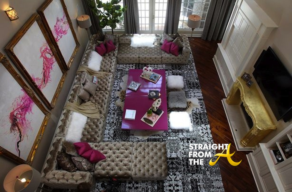 A Peek Inside Kandi Burruss Atlanta Home Photos