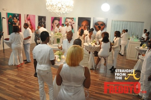 RHOA White Party 1
