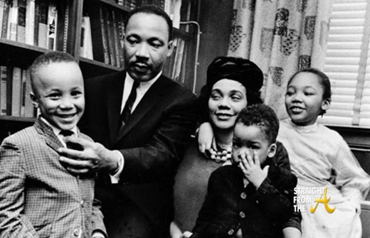 dr martin luther king jr and family sfta