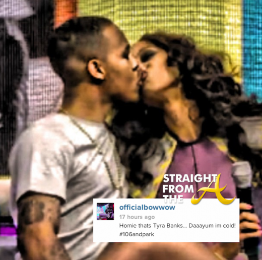 Bow Wow Tyra Banks Kiss 2013 1