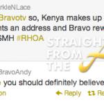 Bravo Andy Tweet