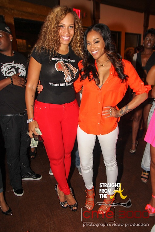 Chanita Foster and Mimi Faust