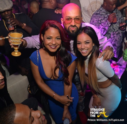 Christina Milian Kenny Burns Karruche Tran