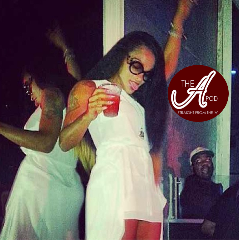 "Joseline Hernandez' ""Shotz"" Video, Andre 3000"