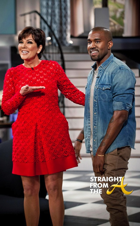 Kanye Kris Jenner 1