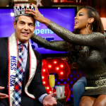 Kenya Moore Crowns Andy Cohen