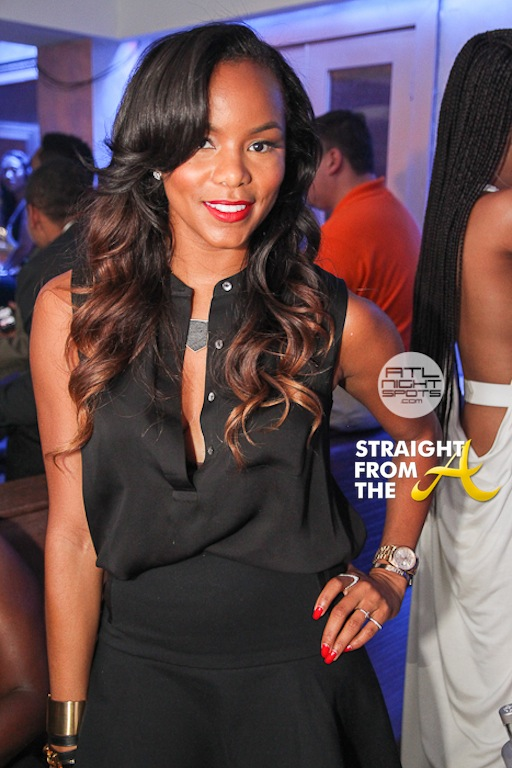 Usher, Keri Hilson, Letoya Luckett, Partied In Krave Lounge