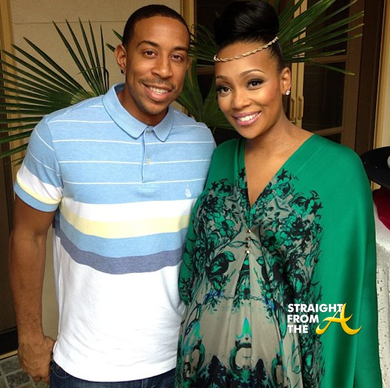 Ludacris And Monica Baby Shower 2013