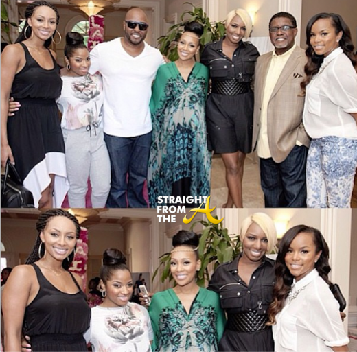 Monica Brown Keri Hilson Nene Greg Leakes LaToya Luckett Toya Wright