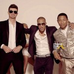 Did Robin Thicke Blur Lines of Copyright Infringement w/ 'Blurred Lines'? Marvin Gaye's Estate Files Suit… [COMPARE SONGS]