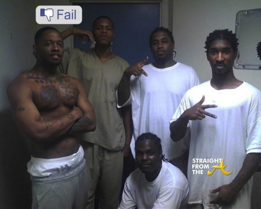 Convicts Using Facebook in Jail