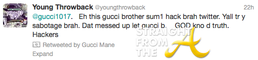 Gucci Tweet 1