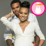 Monica Gives Birth To Daughter Laiyah + Shannon Brown Shares 1st Photo of Baby Girl….