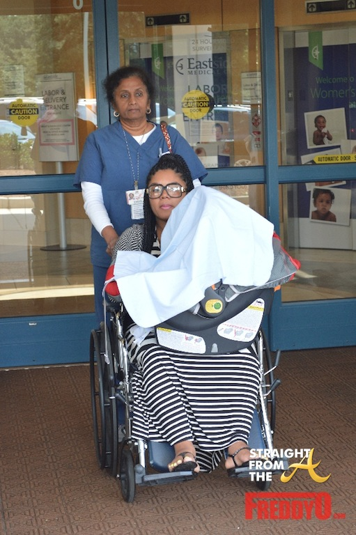 Rasheeda Released From Hospital 1