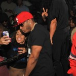 Boo'd Up: Nelly & Girlfriend Lashontae Heckard Hit The Club in Atlanta… [PHOTOS]