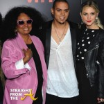 Diana Ross Evan Ross and Date