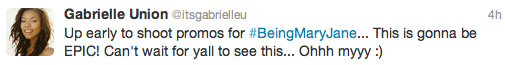 Gabrielle Union Tweet1