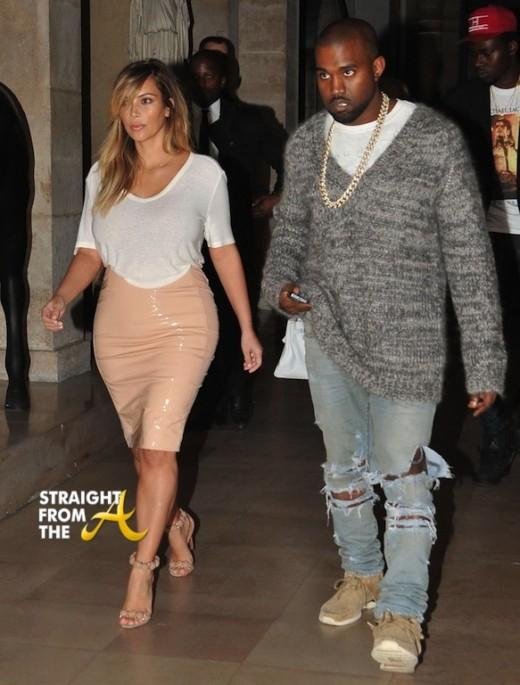 Kim Kanye Engaged