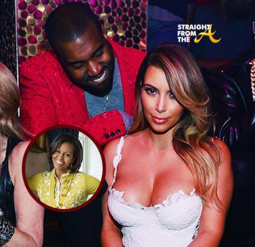 Kanye Kim Kardashian Michelle Obama