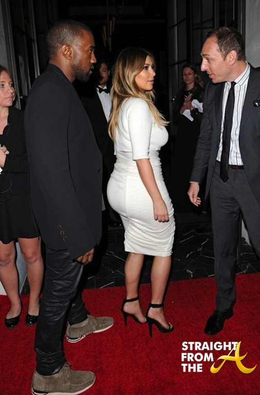 Kanye West Kim Kardashian Stars Dream Future Africa Foundation 4