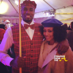 Boo'd Up: Keri Hilson & Serge Ibaka 'Coordinate' For Halloween 2013… [PHOTOS]