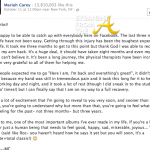 Mariah Carey Wants You To Know… (Her 'Indefinitely Postponed' Album is Progressing)