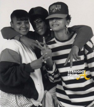 "Original TLC Group StraightFromTheA 2  The ""Original"" group consisted of Lisa 'QT' Lopes, Tionne 'Madame T' Watkins, Crystal 'CHRYS' Jones."