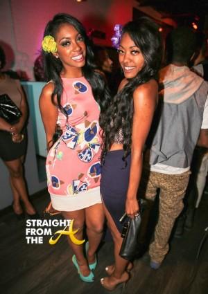 Porsha Stewart and Sister