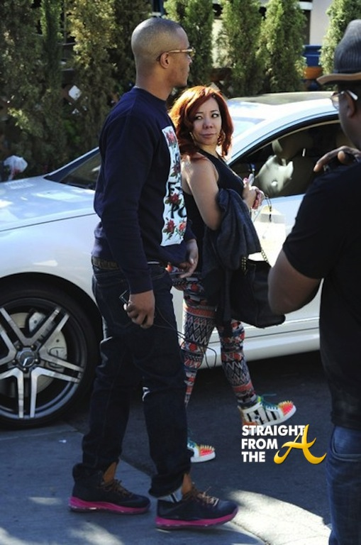 T.I. and Tiny in LA 1