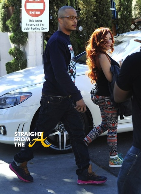 T.I. and Tiny in LA 2