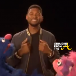 IMAGE CONTROL 101: Usher Teaches ABC's on Sesame Street… [VIDEO]