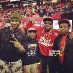 Celebrity Dads: Usher & Big Boi Attend Falcons Game With Sons… (PHOTOS)