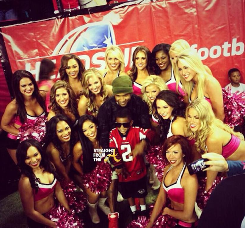 Usher Falcons Cheerleaders 2013