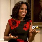 FOR DISCUSSION: Did Kerry Washington's SNL Skit Diffuse or Deflect Kenan Thompson's Controversial 'No Diversity' Statement? [VIDEO]