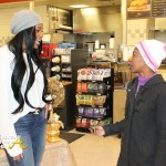 POSITIVE PRESS: Marlo Hampton Feeds the Homeless… [PHOTOS]