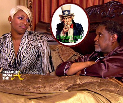 Nene Gregg Leakes Tax Issues Straightfromthea