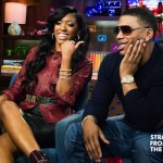 Porsha Stewart and Nelly WWHL 10