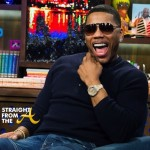 Porsha Stewart and Nelly WWHL 11