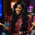 Porsha Stewart and Nelly WWHL 13