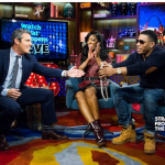 Porsha Stewart and Nelly WWHL 2