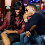 Porsha Stewart and Nelly WWHL 9