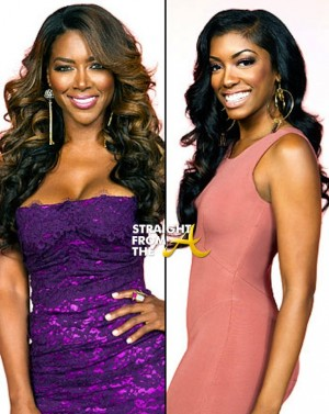 Kenya had a whole lot to say about Porsha's divorce situation and in