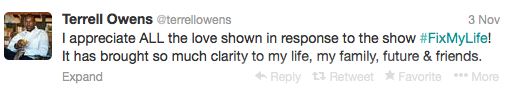Terrell Owens Tweets 2