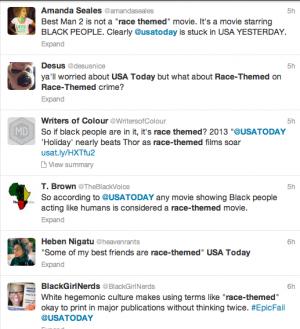 USA Today Race Themed Backlash 3