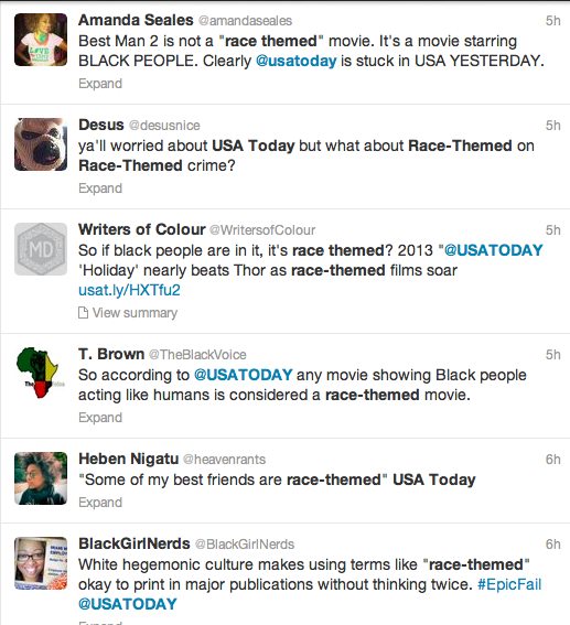 USA Today Race Themed Backlash 3