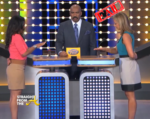 steve harvey family fued black zombie