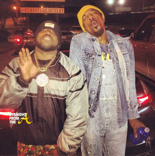 Big Boi Andre 3000 Outkast 2013 StraightFromTheA