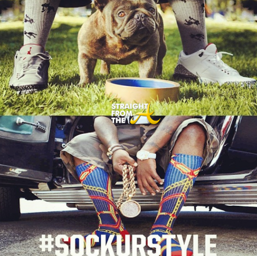 Big Boi Crooks & Castles Socks StraightFromTheA-15