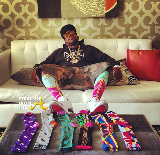Big Boi Crooks & Castles Socks StraightFromTheA-5