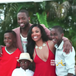 Gabrielle Union Dwanye Wade & Family StraightFromTheA 2